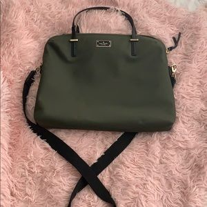Kate spade laptop case/ or can be carried as purse